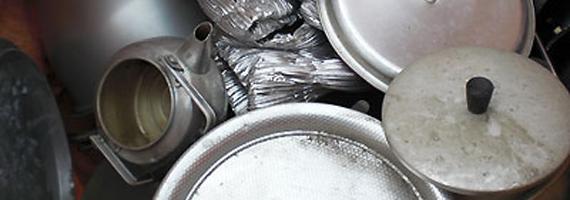 アルミガラ(鍋、機械)